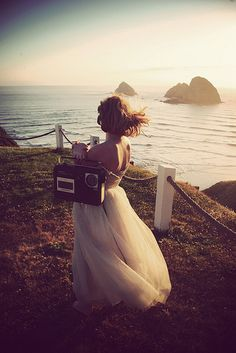 Not a wedding shoot, but it looks like one. by olivia bee, via Flickr