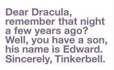 Dear Dracula...