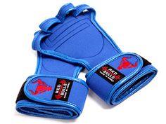 workout gloves-blue