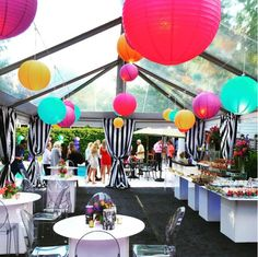 Chinese Lanterns | Blue Peak Tents, Inc.