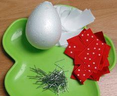 Decoración de huevos de pascua ~ lodijoella