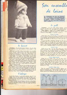"""PAR AMOUR DES POUPEES :: 1964-02-02 """"Lisette et son ensemble de laine"""""""