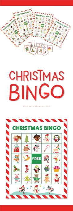 Printable Christmas Bingo For Kids | Activities For Kids #kidsactivities