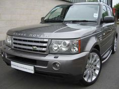2009 Range Rover Sport 3.6 TDV8 HSE Auto. Estate. Full Land Rover service history. In Stornaway Grey Metallic with black leather interior.