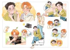 Exo, Fan Art, Anime, Fictional Characters, Cartoon Movies, Anime Music, Fantasy Characters, Animation, Anime Shows