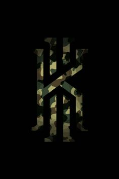 Kyrie Military Logo wallpaper by Timeplayer - 71 - Free on ZEDGE™ Jordan Logo Wallpaper, Camo Wallpaper, Hype Wallpaper, Irving Wallpapers, Sports Wallpapers, Basketball Art, Basketball Pictures, Kyrie Irving Logo Wallpaper