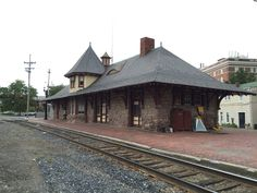 The Old Train Station in Winchester, Va. Photo by Kathy Simon 8/10/16