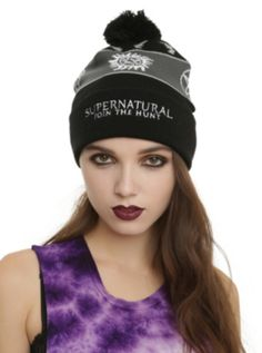Supernatural Pom Beanie || I LOVE THIS SO MUCH. || ORDERED!!