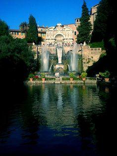 Villa d'Este - Tivoli, Lazio, Italy