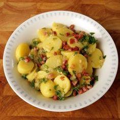 ESSEN & TRINKEN - Kartoffelsalat mit Speckdressing Rezept