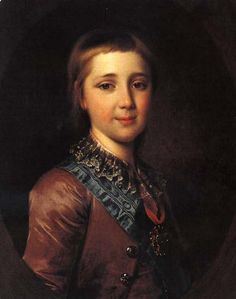 Alexander I of Russia - Dmitry Levitzky (1735 – 1822, Russian)