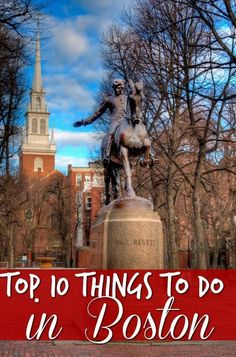 while visiting New England these top 10 things to do in Boston MA are a must see. There so so much history in the area you won't want to miss it!