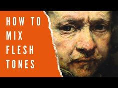 In this article I am going to show you the exact process I use to mix flesh tones. In fact all colors can be mixed accurately this way. Oil Painting Tips, Acrylic Painting Lessons, Acrylic Painting Tutorials, Urban Painting, Painting Videos, Mixing Paint Colors, Color Mixing, Watercolor Skin Tones, Rembrandt Portrait