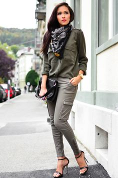 490e0d74385f How to Wear Cargo Pants: Wardrobe Basics | Lena PenteadoLena Penteado  Military Fashion, Military