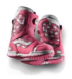Vans Hello Kitty Kids Snowboard Boots