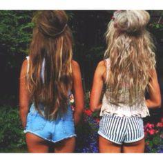 short pants and long hair