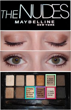 Maybelline: The Nudes I'm obsessed