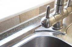 Practical and easy to clean: stainless steel sink - Sheffield Sustainable…