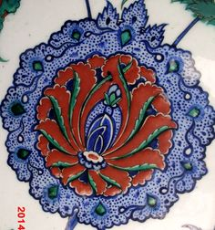 hatai Turkish Art, Turkish Tiles, Tile Art, Mosaic Tiles, Porcelain Ceramics, Ceramic Pottery, Pottery Patterns, Antique Tiles, Contemporary Artists