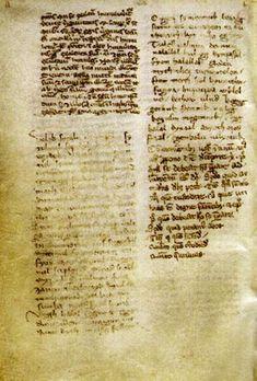 Az Ómagyar Mária-siralom a leuveni kódexben / The lament of Mary cca. 1300