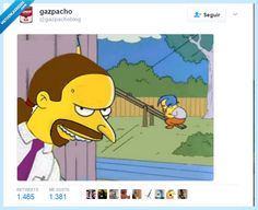 Otra vez los Simpsons han dado en el clavo... por @gazpachoblog   Gracias a http://www.vistoenlasredes.com/   Si quieres leer la noticia completa visita: http://www.skylight-imagen.com/otra-vez-los-simpsons-han-dado-en-el-clavo-por-gazpachoblog/