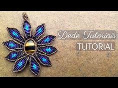 Dede Tutoriais | Como fazer colar com pedra cabochão #60 - YouTube