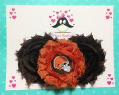 Cleveland Browns headband football headband baby by AnisasBowtique, $12.00