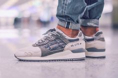 Sweetsoles – Asics Gel Lyte III 'Snowman' (by brooro)