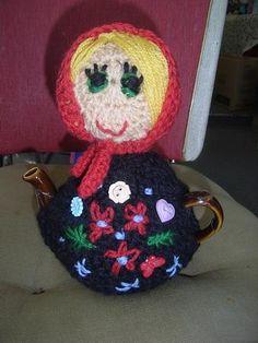 Tea Cosy by Vicki Pye Unique Babuska Doll Tea Cosy