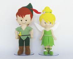 Kit Tinkerbell e Peter Pan 30cm