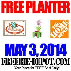 FREE Planter Kid Workshop at Home Depot