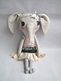 Elodie Elephant in Costume!