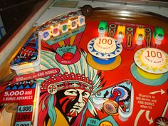 gottlieb big brave pinball machine - Google Search