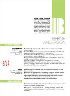 resume design ideas easy with a touch of personality design