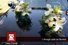 arreglos de auto para bodas - wedding ideas