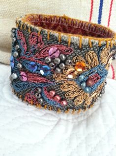 Check out the deal on Vintage Lace Handmade Cuff Bracelet at Eco First Art