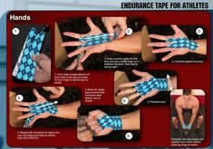 Taping hands