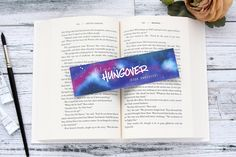 Bookmark, Always book hungover quote watercolor art bookmark, book lover gift, bookish, books, best friend gift. by DrawnToThePages on Etsy https://www.etsy.com/listing/606391840/bookmark-always-book-hungover-quote