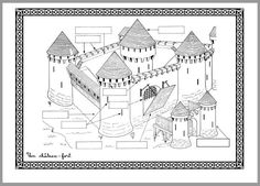 Gandalf, Chateau Moyen Age, Château Fort, Middle Ages, Social Studies, Activities For Kids, Knight, How To Plan, Education