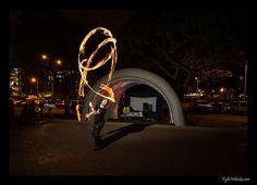 Photographing Fire Dancers – Part 2 Fire Dancer, Spinning, Neon, Neon Tetra, Hand Spinning