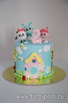 """Детский торт """"Малышарики"""""""