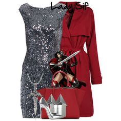 """""""Lady Sif"""" by amarie104 on Polyvore"""