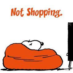 Not shopping
