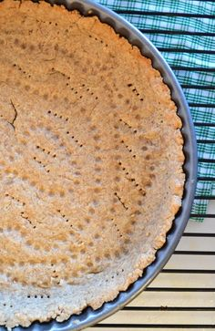 No-Roll Whole Wheat Light Pie Crust. All-purpose recipe for any pie, tart, or quiche and NO rolling required! -from The Law Student's Wife