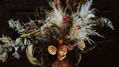 It was a dream to have the chance to do the florals for their wedding. Boho Wedding, Wedding Bride, Destination Wedding, Florals, Christmas Wreaths, Floral Design, Groom, Anna, Mexico