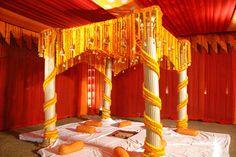 Marigold mandap