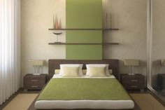 When done right, your master bedroom can be a wonderful sanctuary. Get inspired with these 83 pictures of modern master bedroom design ideas. Room Design, Best Bedroom Colors, Bedroom Interior, Bedroom Green, Zen Bedroom, Modern Bedroom, Zen Interiors, Bedroom Colors, Interior Design Bedroom