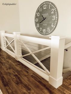 New Farmhouse Stairs Railing Entryway Ideas – My Dream Home Home Renovation, Home Remodeling, Farmhouse Stairs, Stair Railing, Banisters, Stair Lift, Railing Ideas, Staircase Design, My Dream Home