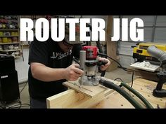 Universal Router Edge Guide And Mortise Jig - YouTube