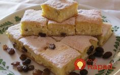 Výborný koláčik - voláme ho aj pôstna bublanina a robíme ho pravidelne na Veľký piatok. Cornbread, French Toast, Sandwiches, Breakfast, Ethnic Recipes, Food, Cement, Millet Bread, Roll Up Sandwiches